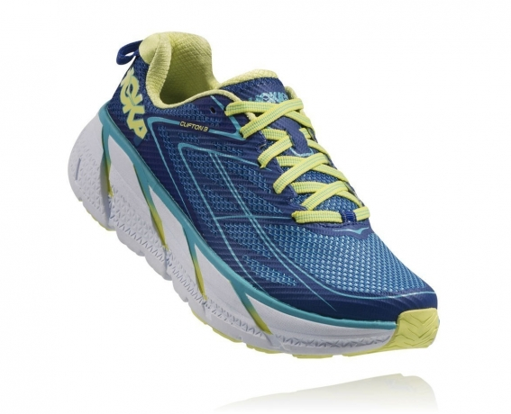 Hoka One One Clifton 3 W True Blue / Sun...
