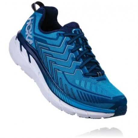 Hoka One One Clifton 4 Diva Blue / True ...