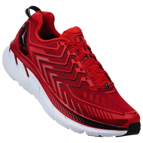 Hoka One One Clifton 4 Haute Red / High ...