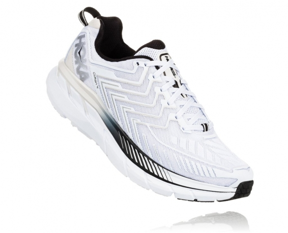 Hoka One One Clifton 4 White / Black
