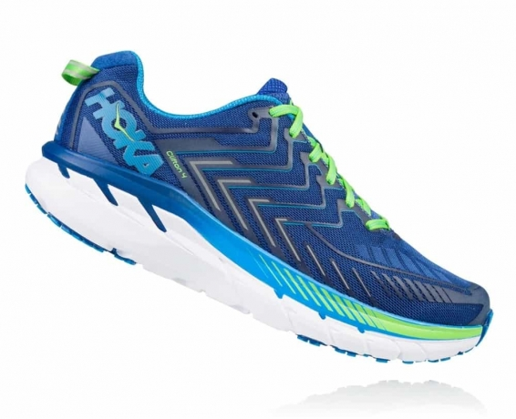 Hoka One One Clifton 4 Wide True Blue / ...