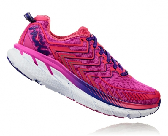 Hoka One One Clifton 4 W Fuchsia / Hot P...
