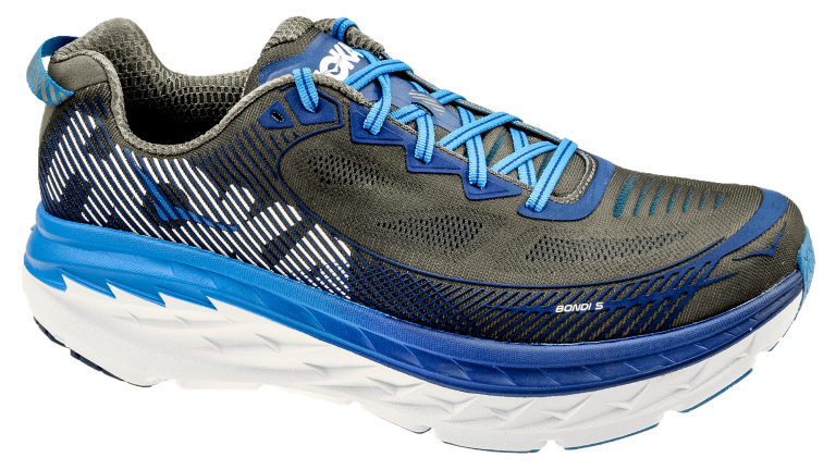 Hoka One One Bondi 5 Wide Charcoal Gray ...