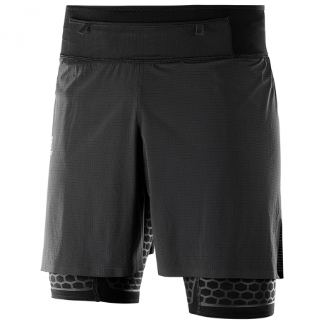 Salomon EXO Twinskin Short Black Herre