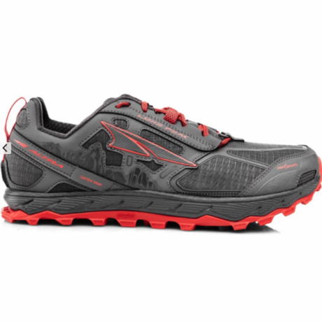 Altra Mens Lone Peak 4 Gray/Orange
