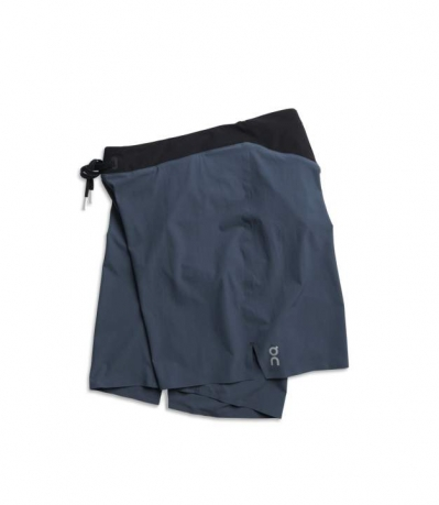 On Lightweight Shorts Mens Navy/Black