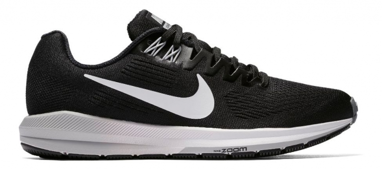 Nike Air Zoom Structure 21 Herre Black/W...