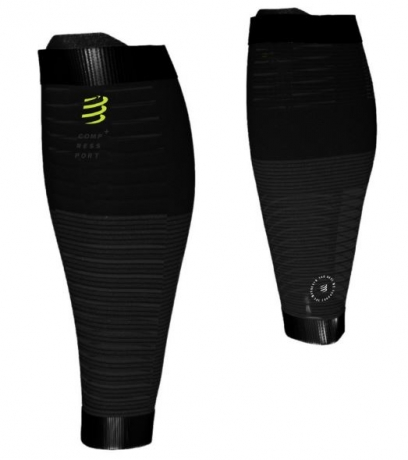 Compressport R2 Oxygen Calf Black Editio...