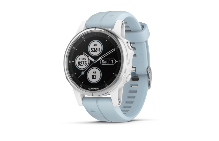 Garmin Fenix 5S Plus® Glass White w/Sea ...