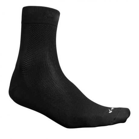 Fusion Race Sock Black