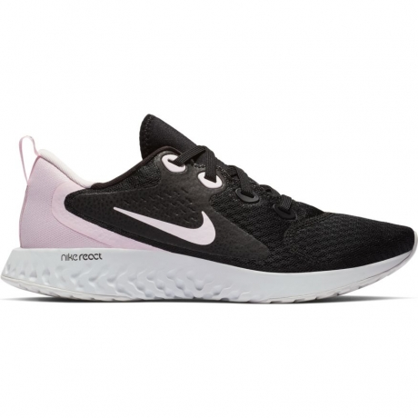 Nike Legend React Womens - Black/Pink/Gr...
