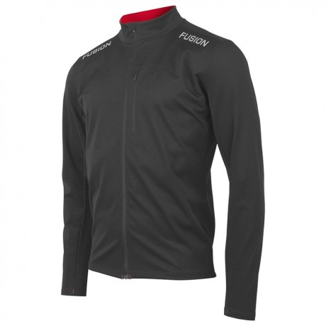 Fusion S2 Run Jacket Black