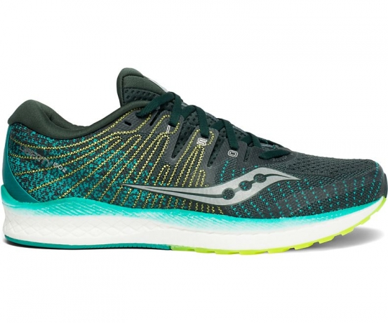 Saucony Liberty ISO 2 Green/Teal Herre