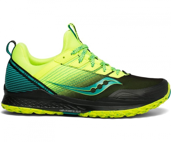 Saucony Mad River TR Herre Citron/Black