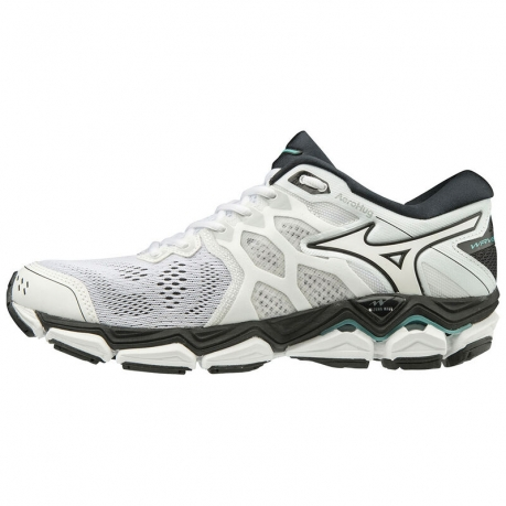 Mizuno Wave Horizon 3 Dame White/Bluetur...