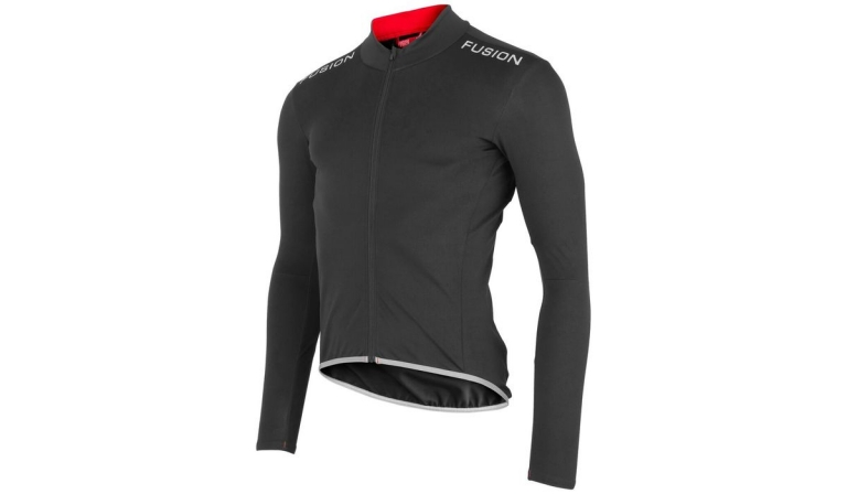 Fusion SLi Cycle Jacket - Black