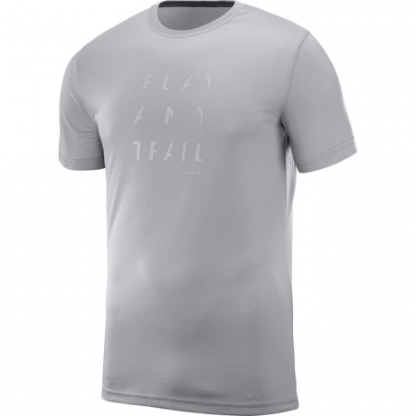 Salomon Pulse SS Tech Tee Alloy