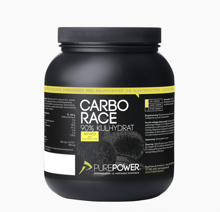 PurePower CARBO RACE ELEKTROLYT CITRUS 1,5 kg