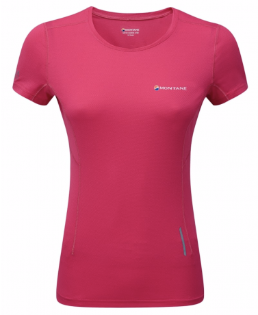 Montane Claw T-Shirt Womens - Pink