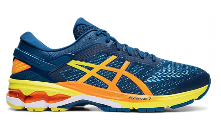 Asics Gel-Kayano 26 Mako Blue/Sour Yuzu ...