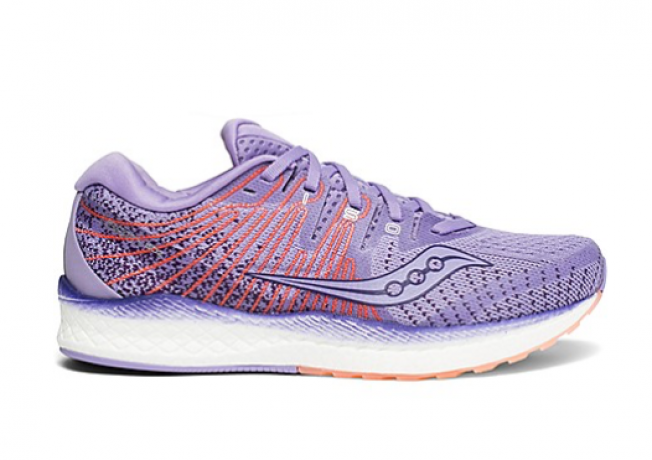 Saucony Liberty ISO 2 Purple/Peach Women