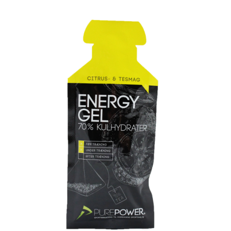PurePower ENERGY GEL CITRUS-TE 1 STK