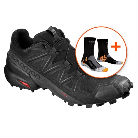 Salomon Speedcross 5 Herre - Sort INKL. ...