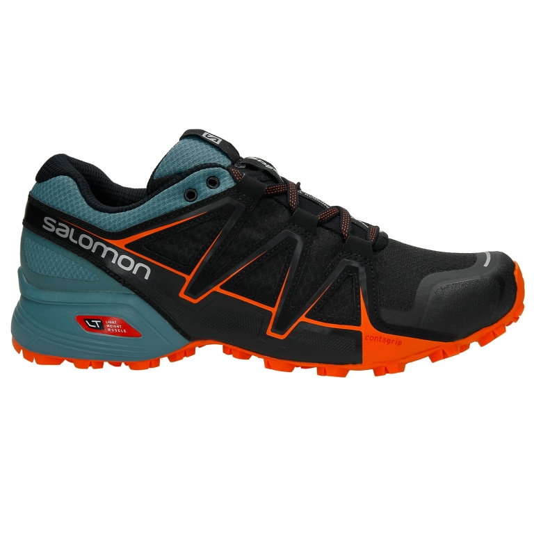 Salomon Speedcross Vario 2 Mens - Black/North Atlantic/Scarlet Ibis