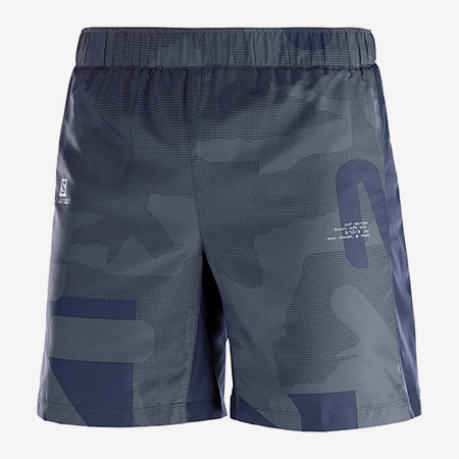 Salomon Agile Short 7¨Herre Night Sky