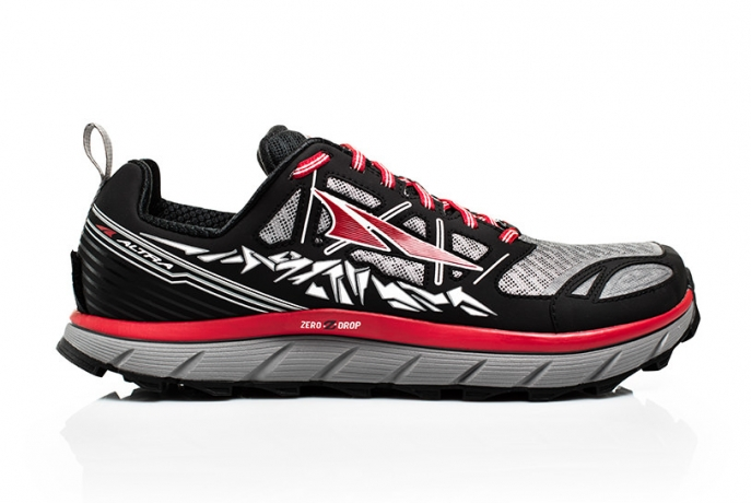 Altra Mens Lone Peak 3.0 Black/Red