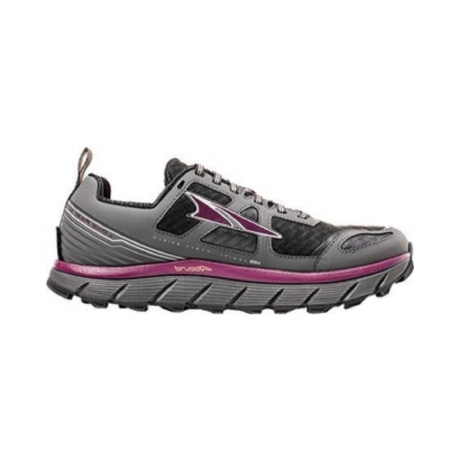 Altra Womens Lone Peak 3.0 Black/Purple