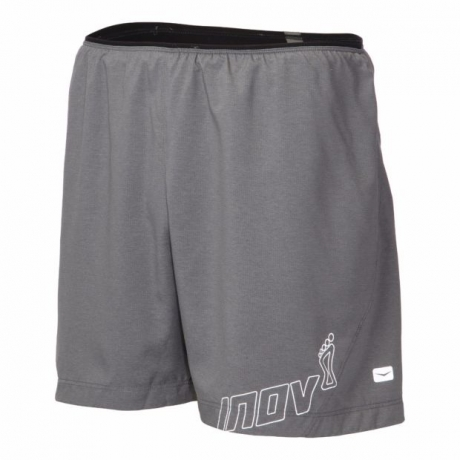 Inov8 AT/C 5'' Trail Short Dark Grey Her...