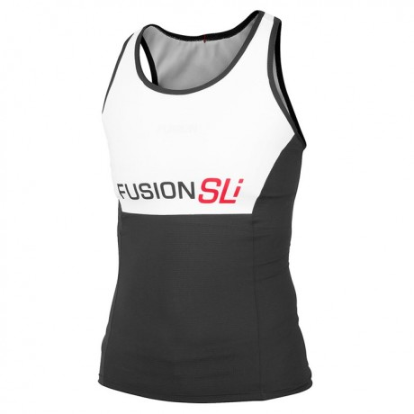 fusion mens sli tri top-white/black