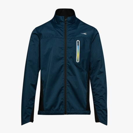 Diadora Bright Wind Jacket Unisex - Blue...