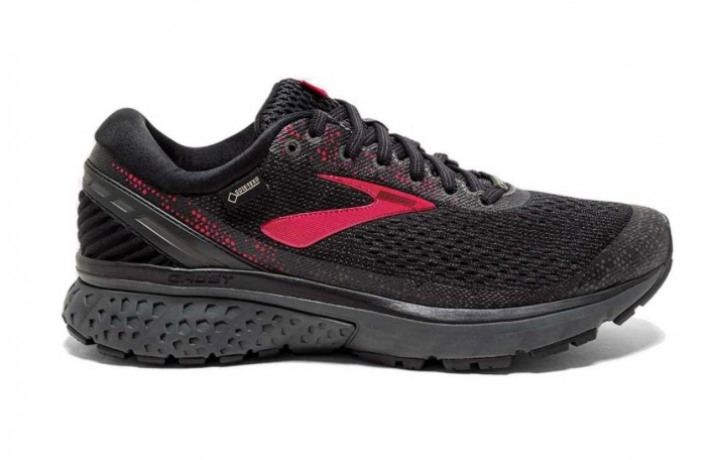 Brooks Ghost 11 GTX Black/Pink/Ebony Wom...