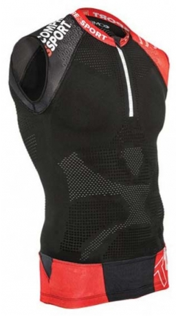 Compressport Trail Shirt V2 Tank Black