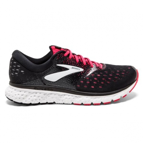 Brooks Glycerin 16 Dame Black/Pink/Grey