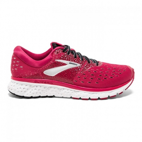 Brooks Glycerin 16 Dame Pink/Black/Blue
