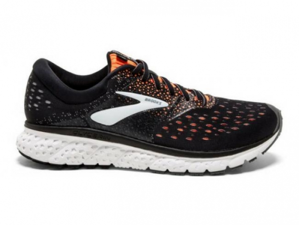 Brooks glycerin 16 Black/Orange/Grey