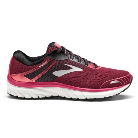 Brooks Adrenaline GTS 18 Pink/Black/Whit...