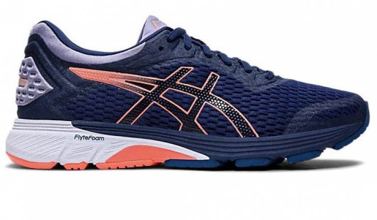 Asics GT-4000 Blue/White/Pink - Womens