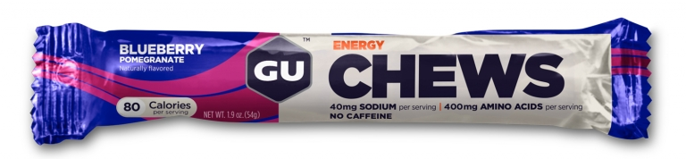 GU Chews Energy - blueberry/pomegranate