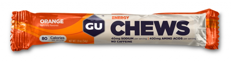 GU Chews Energy - orange