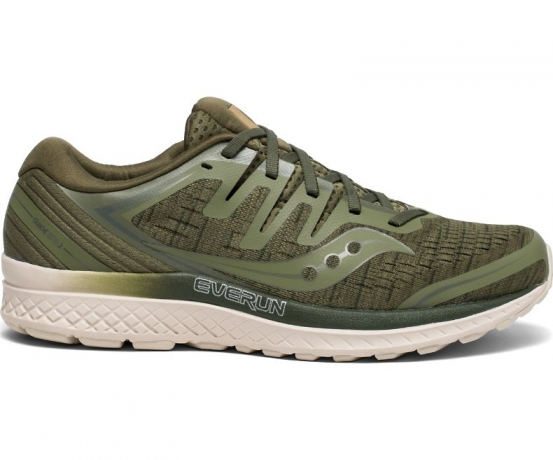 Saucony Guide ISO 2 Herre Olive/Shade