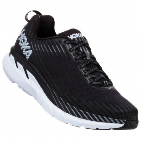 HOKA Clifton 5 Men Black/White