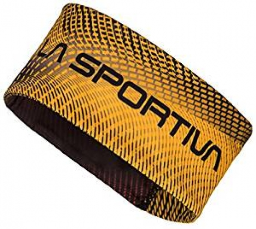 La Sportiva Race Headband M Black/Yellow