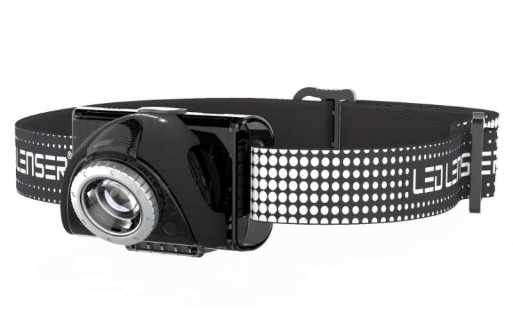 LED Lenser SEO7r Pandelampe sort