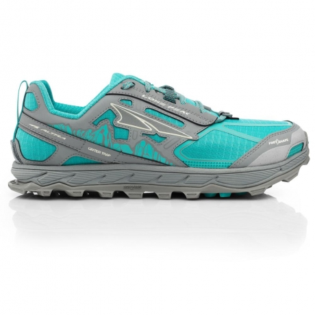 Altra Womens Lone Peak 4 - Teal/Gray