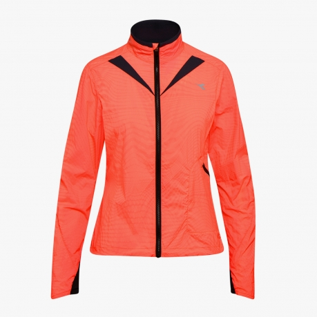 Diadora Luminex Wind Jacket Fluo Coral
