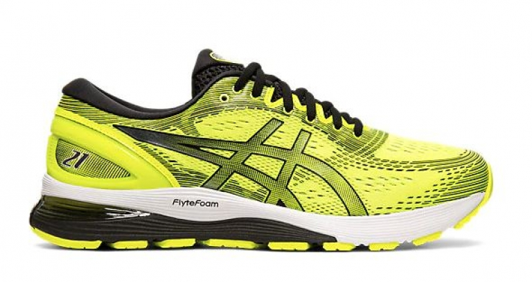 Asics Gel-Nimbus 21 Herre  Yellow/Black/...